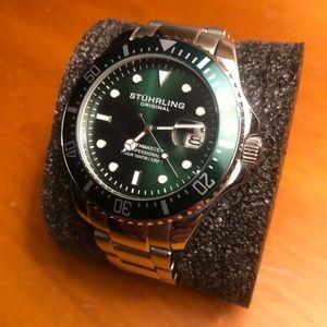 Stuhrling Regatta 792 42MM Diver - Men's Watch